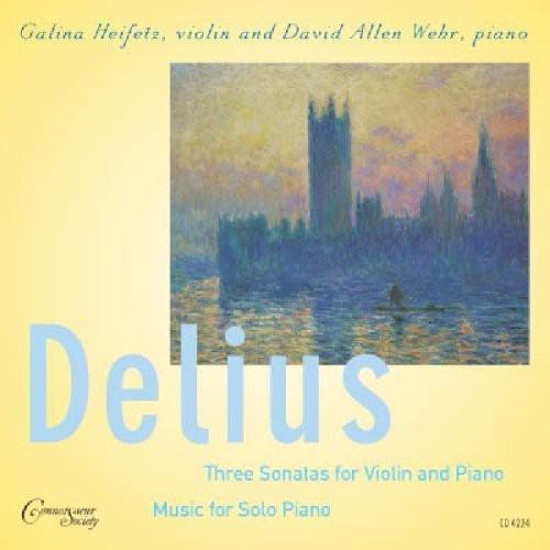 Delius, F. : 3 Sonatas for Violin & Piano