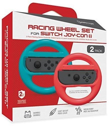 - Hyperkin Joy-Con Racing Wheel - Blue/Red for Nintendo Switch