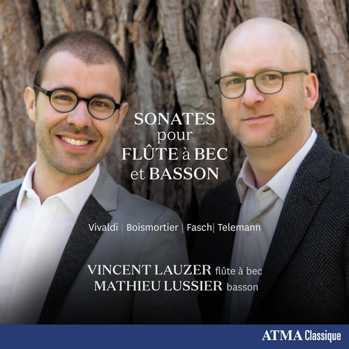 Sonates Pour Flute a Bec Et Basson Vivaldi