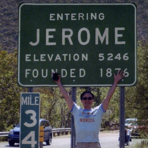 Entering Jerome