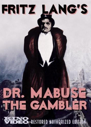 - Dr Mabuse The Gambler (2pc) (Silent) / (Rstr B&W)
