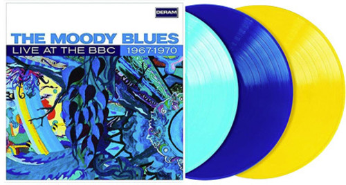 The Moody Blues - Live At The Bbc 1967-1970 (Blue) [Colored Vinyl] (Ltbl)