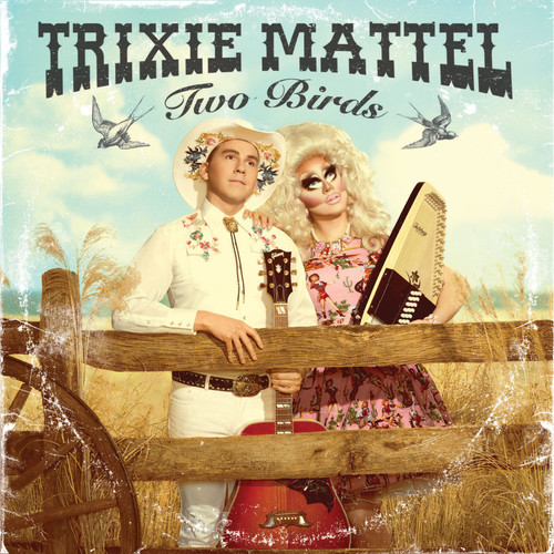 Trixie Mattel - Two Birds, One Stone [Clear w/Pink Blob LP]