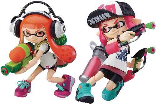 Good Smile - Splatoon Inkling Girls Figma AF Dlx Set