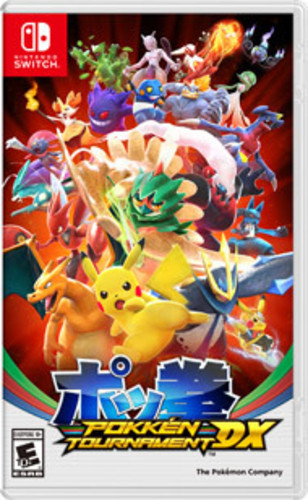 Swi Pokken Tournament DX - Pokken Tournament DX for Nintendo Switch