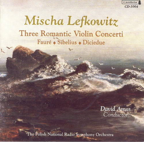 3 Romantic Violin Concertos