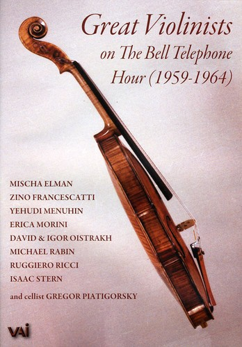 Great Violinists Bell Tel Hour 1959-1967