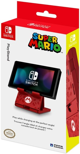 - HORI Compact Stand - Mario Edition for Nintendo Switch