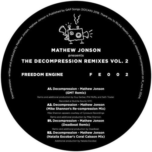 Mathew Jonson Presents The Decompression Remixes Vol.2