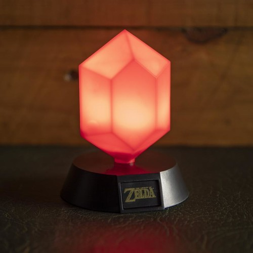 Legend of Zelda Red Rupee Icon Light - Legend of Zelda Red Rupee Icon Light