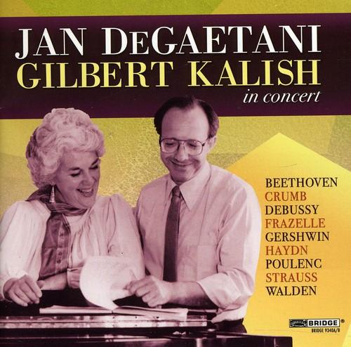 Jan Degaetani & Gilbert Kalish in Concert