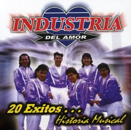 Industria Del Amor - 20 Exitos Historia Musical