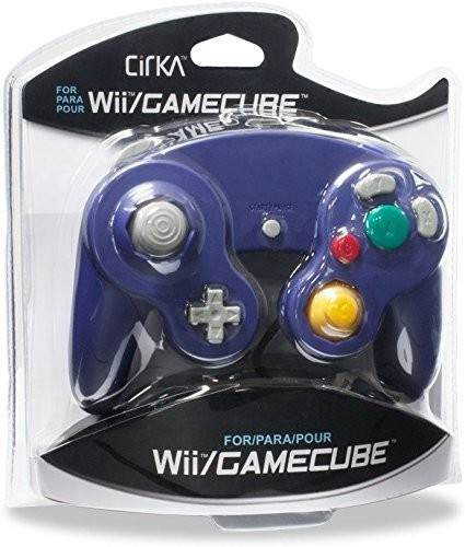 - CirKa Controller - Purple for Nintendo Wii and GameCube