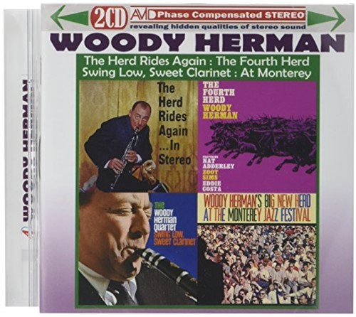 4 Lps - Herd Rides Again In Stereo /  Fourth Herd