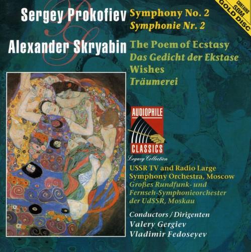 Prokofiev: Sym No 2 /  Skriabin: Poem of Ecstasy