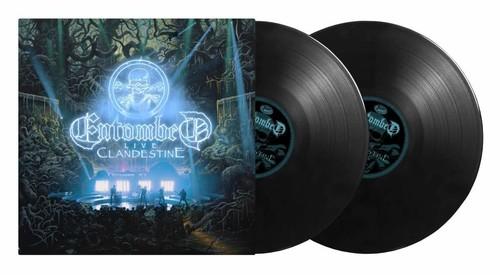 Entombed - Clandestine - Live (2lp 180gr Black + Poster)