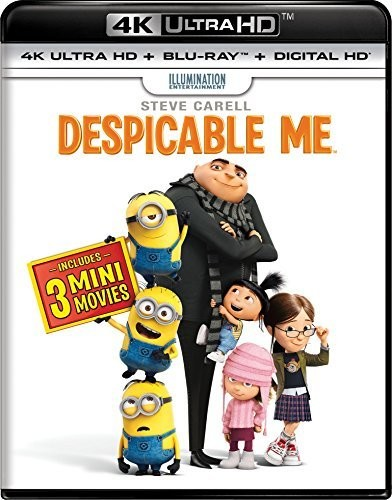 Despicable Me [UltraViolet] [4K Ultra HD Blu-ray] [2 Discs]