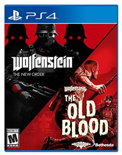 Ps4 Wolfenstein: The Two Pack for Playstation 4 - Wolfenstein: The Two Pack For Playstation 4