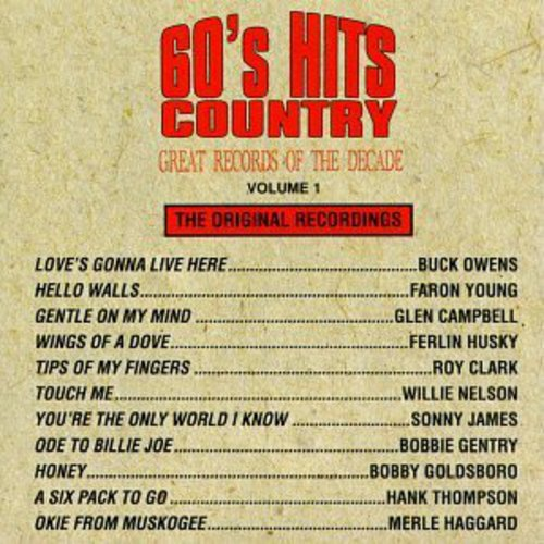 60's Country Hits 1 /  Various