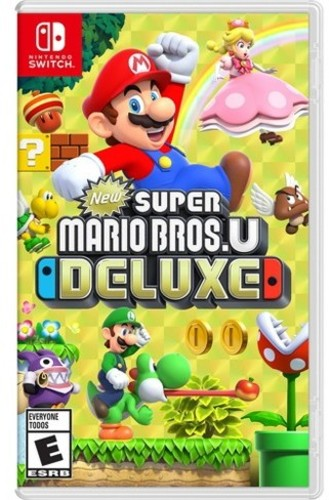 Swi New Super Mario Bros.U Deluxe - New Super Mario Bros. U Deluxe for Nintendo Switch
