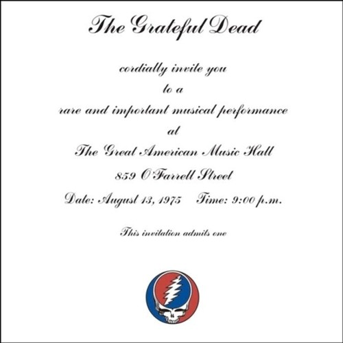 Grateful Dead - One From The Vault [Remastered 3-LP Set]