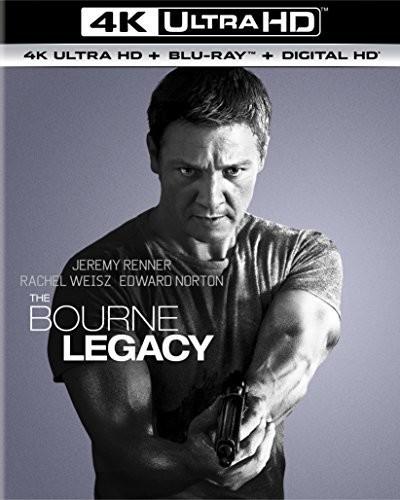 Bourne Legacy [4K Ultra HD Blu-ray/Blu-ray] [UltraViolet]