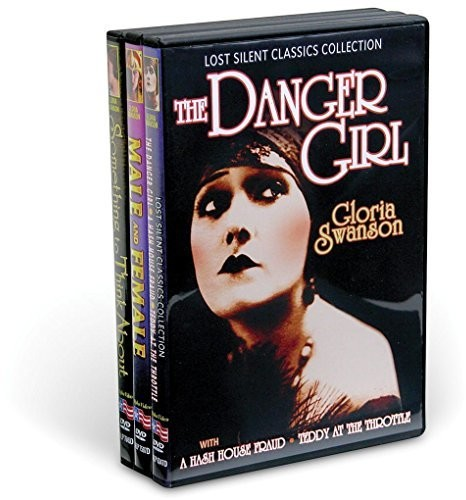 Gloria Swanson Silents Collection (3-DVD)