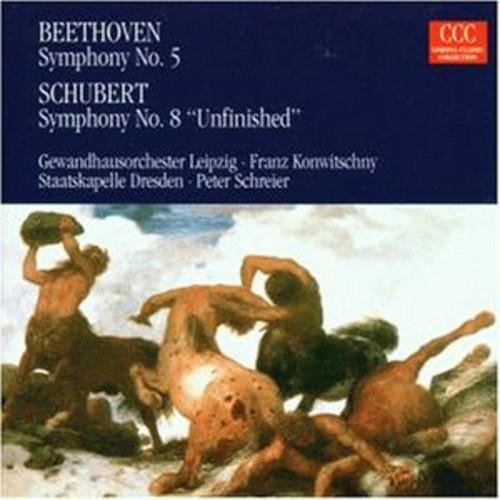 Symphony No 5 & Symphony No 8 Unfinished