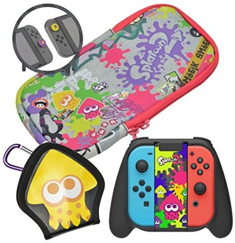 - Hori Splatoon 2 Deluxe Splat Pack for Nintendo Switch