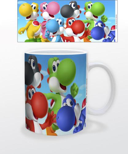 Super Mario Yoshi 11 Oz Mug - Super Mario Yoshi 11 oz mug