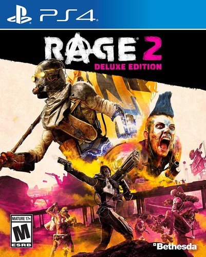 Ps4 Rage 2 - Deluxe Edition - Rage 2 - Deluxe Edition for PlayStation 4