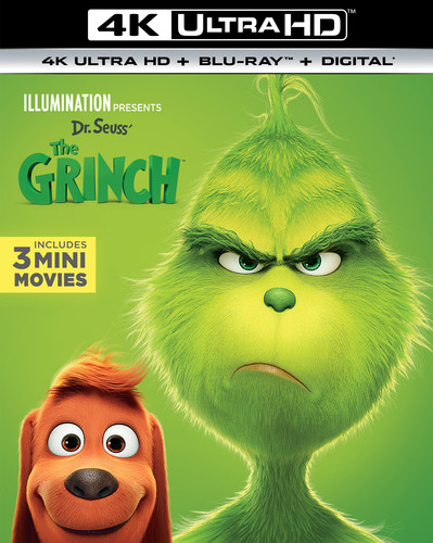 Illumination Presents: Dr. Seuss' The Grinch [4K Ultra HD Blu-ray/Blu-ray]