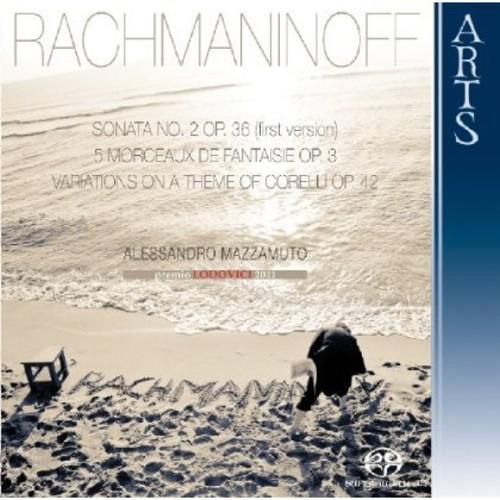 Plays Rachmaninoff
