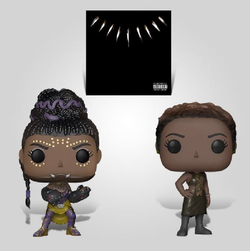 Black Panther Women Lp Bundle