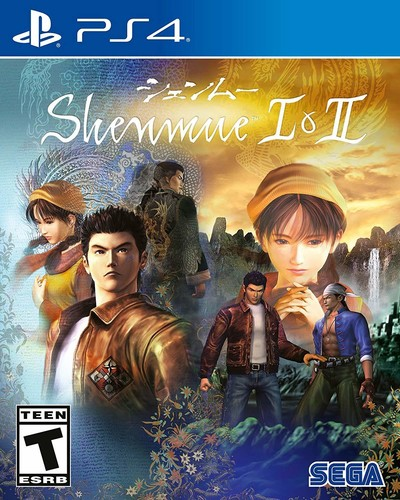 Ps4 Shenmue I & II - Shenmue I & II for PlayStation 4