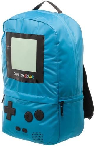 Nintendo Gameboy Backpack Teal - Nintendo Gameboy Backpack Teal