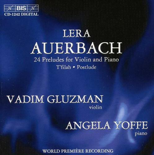 24 Preludes Violin & Piano /  T'filah /  Postlude