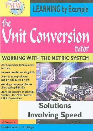 Solutions Involving Speed