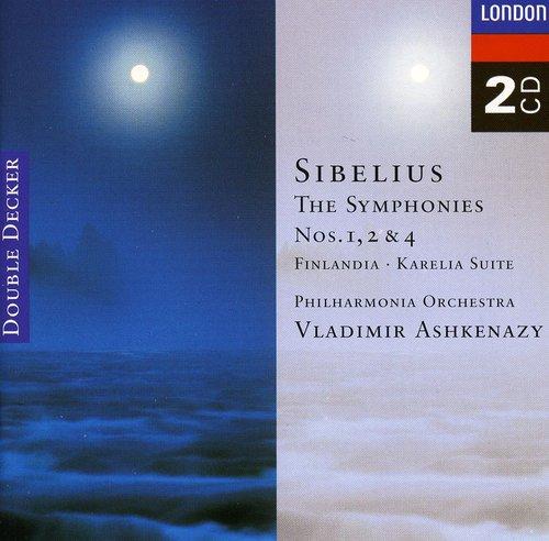 Symphonies 1, 2 & 4