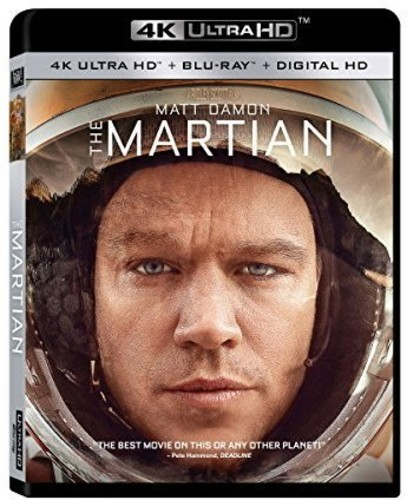 Martian [4K Ultra HD Blu-ray/Blu-ray]