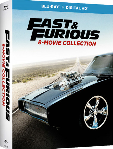 The Fast & The Furious [Movie] - Fast & Furious 8-Movie Collection