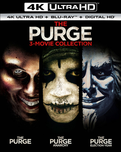 Purge: 3-Movie Collection [UltraViolet] [4K Ultra HD Blu-ray]