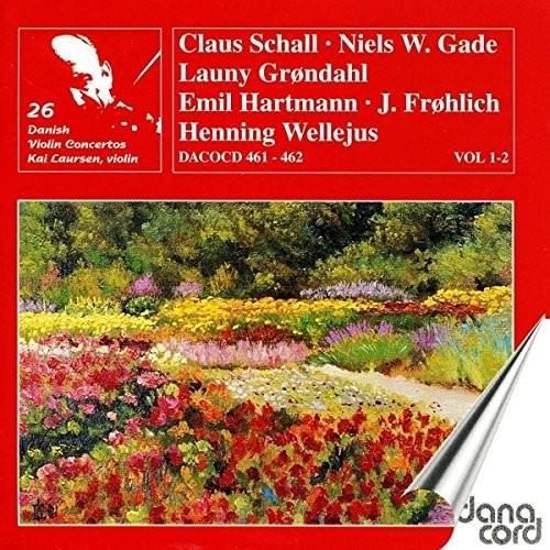 Danish Violin Concertos