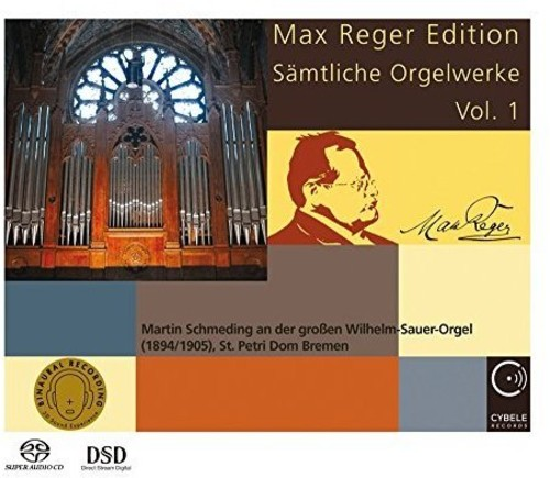 Max Reger Edition: Complete Organ Works 1