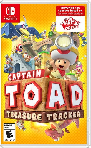 Swi Captain Toad: Treasure Tracker - Captian Toad: Treasure Tracker for Nintendo Switch