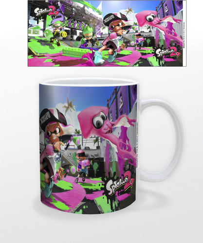 Splatoon 2 Game Cover 11 Oz Mug - Splatoon 2 Game Cover 11 oz mug