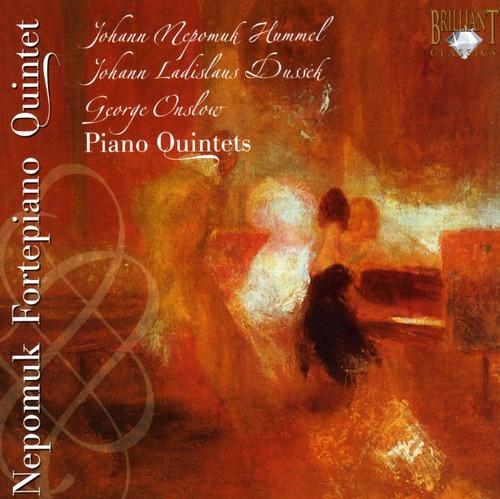 Quintet Nepomuk Pianoforte Quintets /  Various