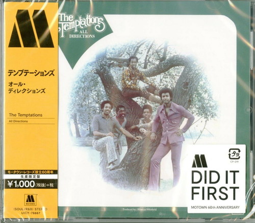 The Temptations - All Directions [Import Limited Edition]