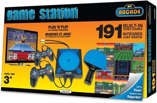 My Arcade Dgun2558 Plug N Play Gamestation Pro - My Arcade GameStation Pro