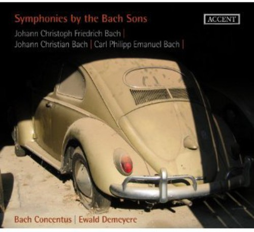 Symphonies By the Bach Sons